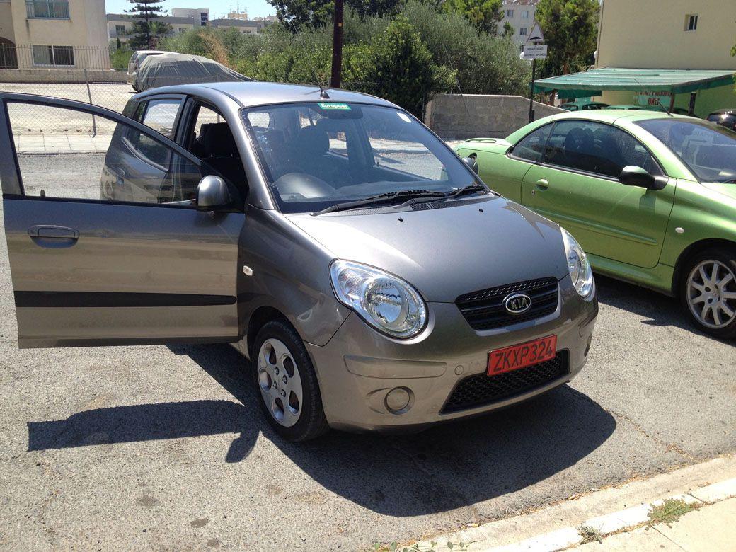 киа пиканто аренда машины на Кипре