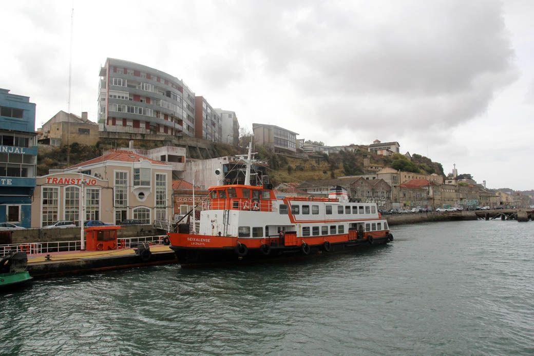 остановка Cacilhas в Лиссабоне