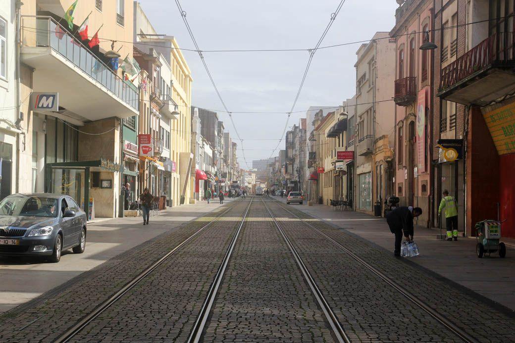 Матозиньюш улица для пешеходов, Португалия