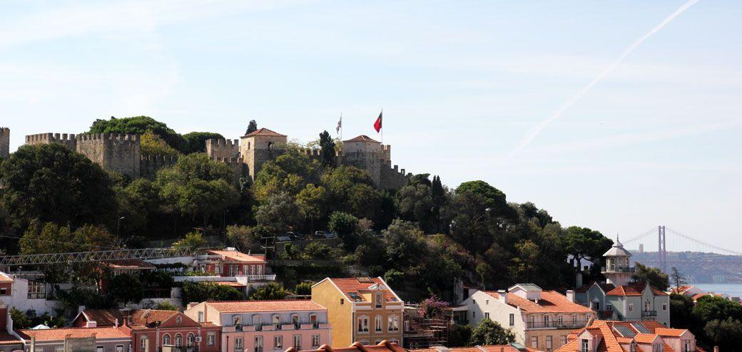 Замок в Лиссабоне