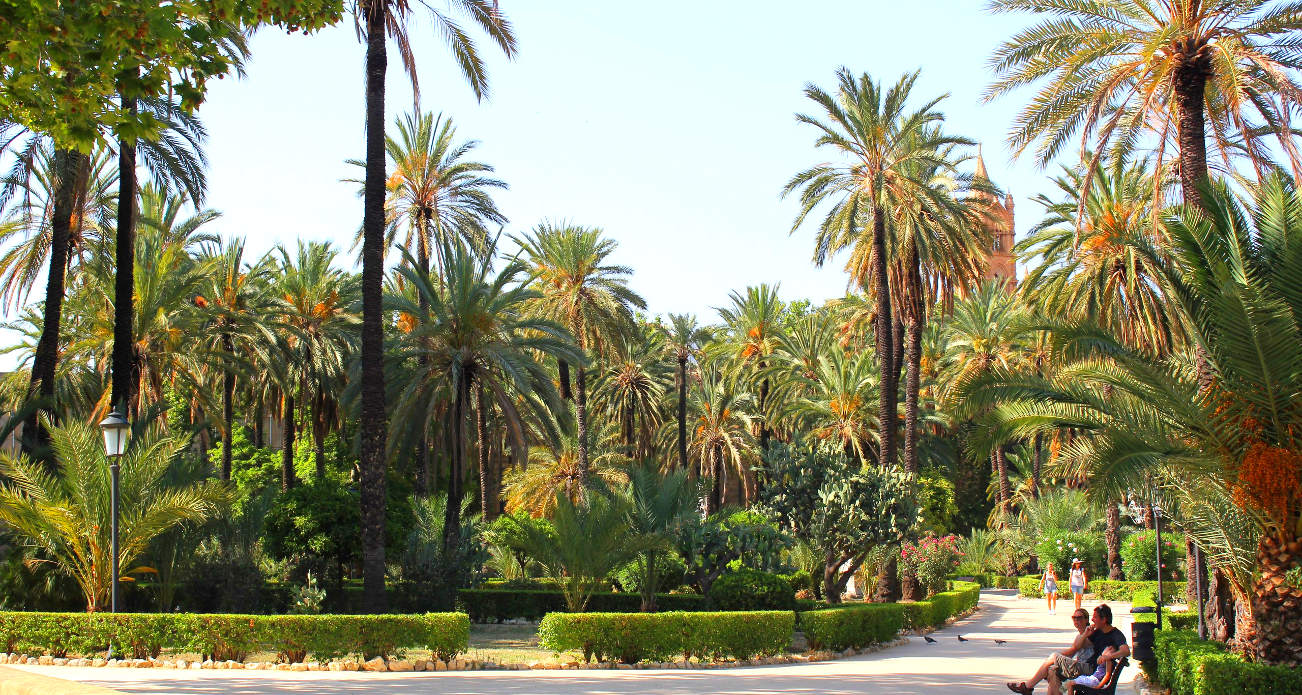 Парк в центре Палермо