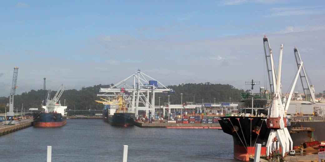 Порт в городе Порту