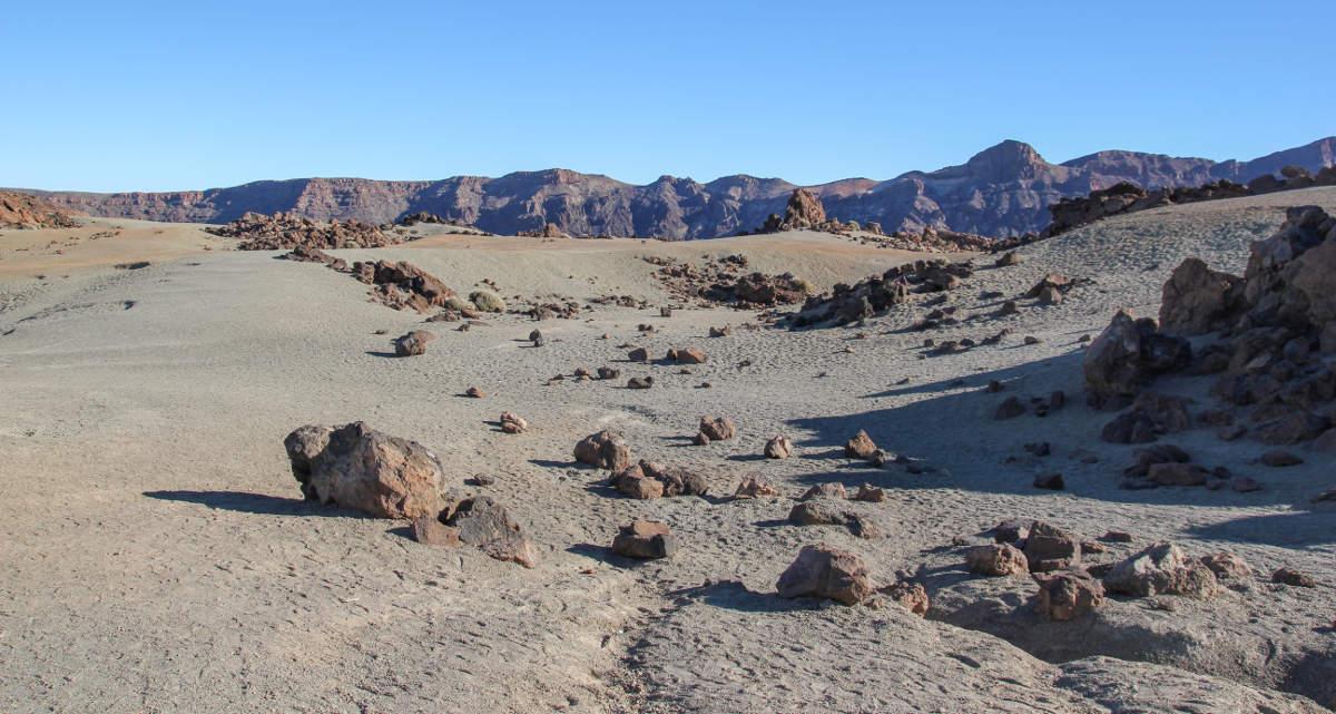 Пустыня возле Тейде