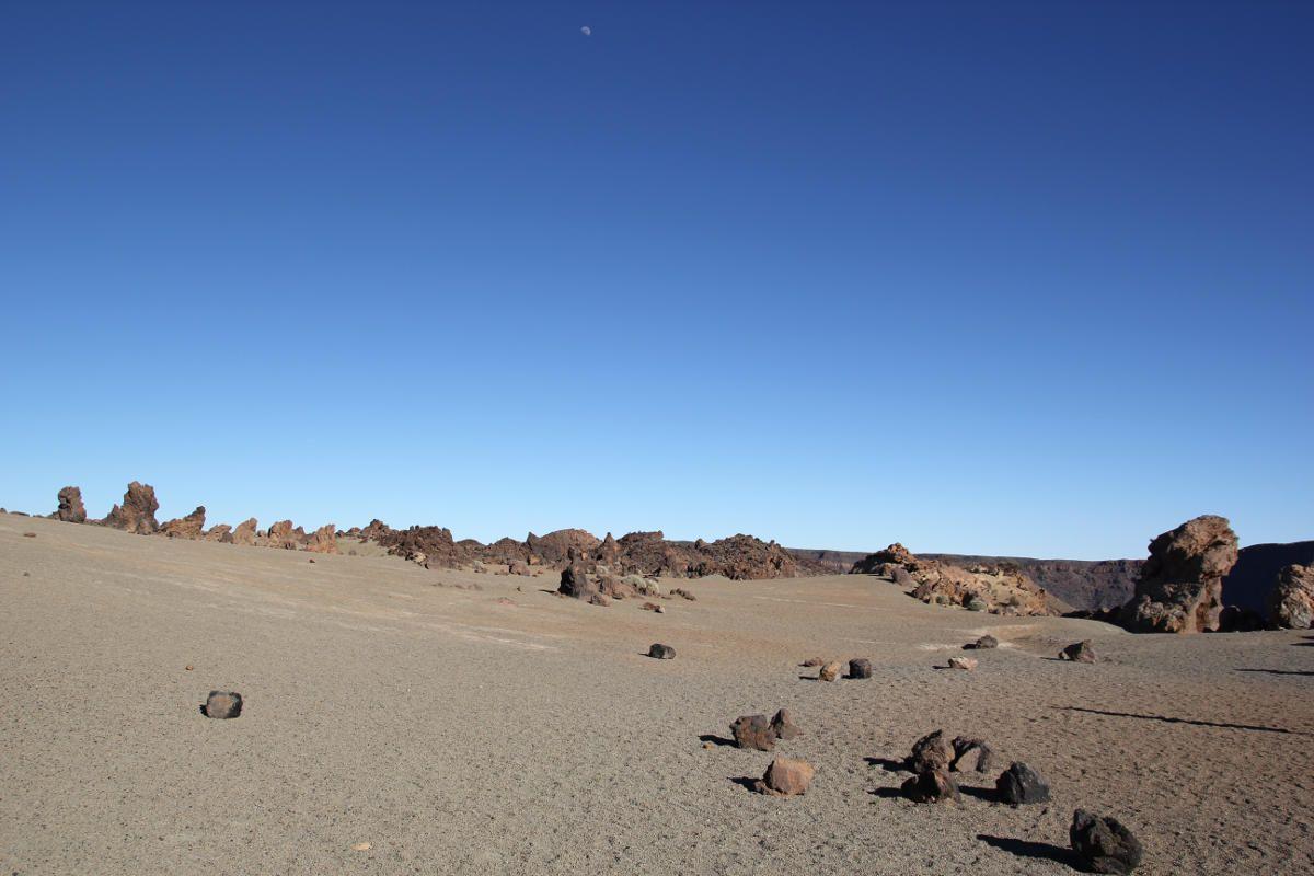 Инопланетный пейзаж возле Тейде