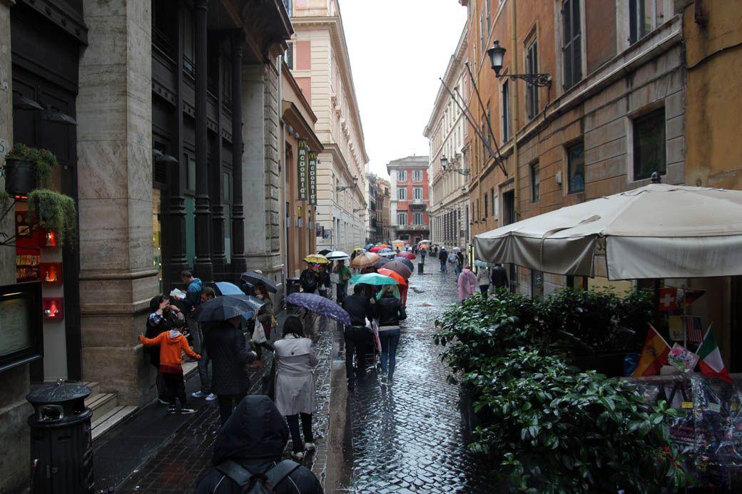 Макдональдс в Риме