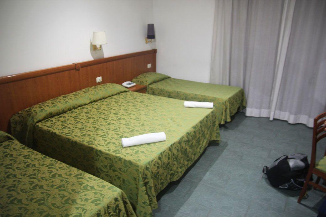 Четырехместный ном в Чампино отеле