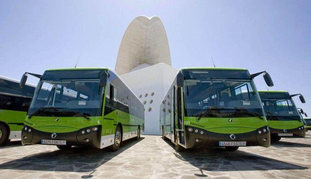 titsa автобусы