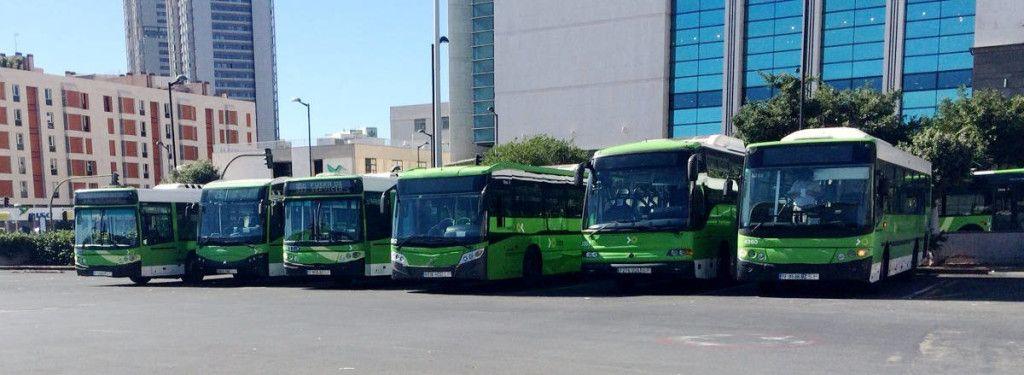 автобусы Titsa тенерифе