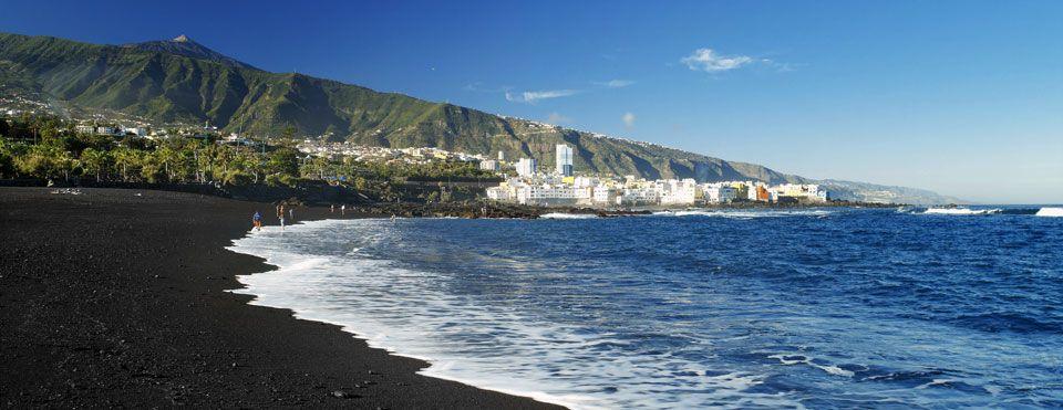 Пляж Хардин Пуерто де Ла Круз