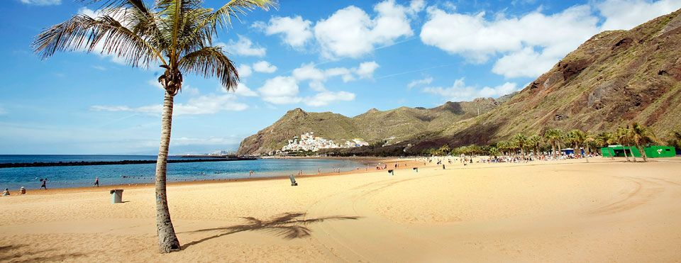Пляж Тереситас Санта Круз де Тенерифе