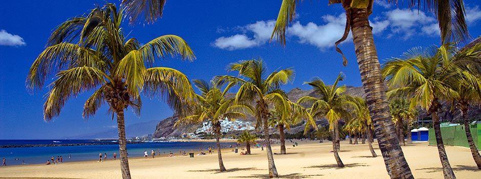 Пляж Тереситас на Тенерифе, лучшее фото