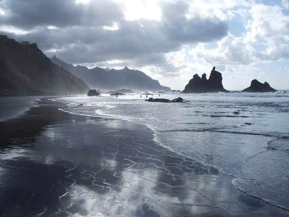 Бенихо пляж на Тенерифе