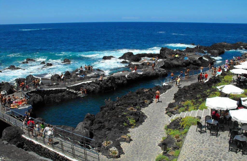 Природные бассейны на Тенерифе