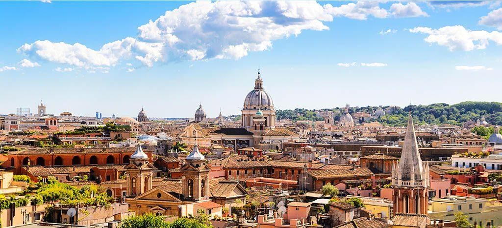 Вид на центр Рима