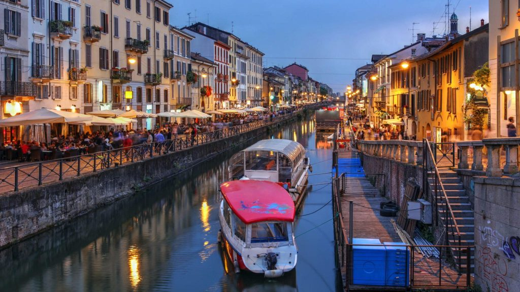 Canals de Milano