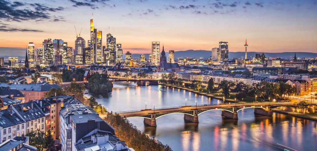 Квартал банков во Франкфурте