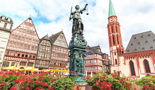 Франкфурт-на-Майне Достопримечательности на карте фото описание города Что посмотреть за 1 день привезти в подарок купить для детей