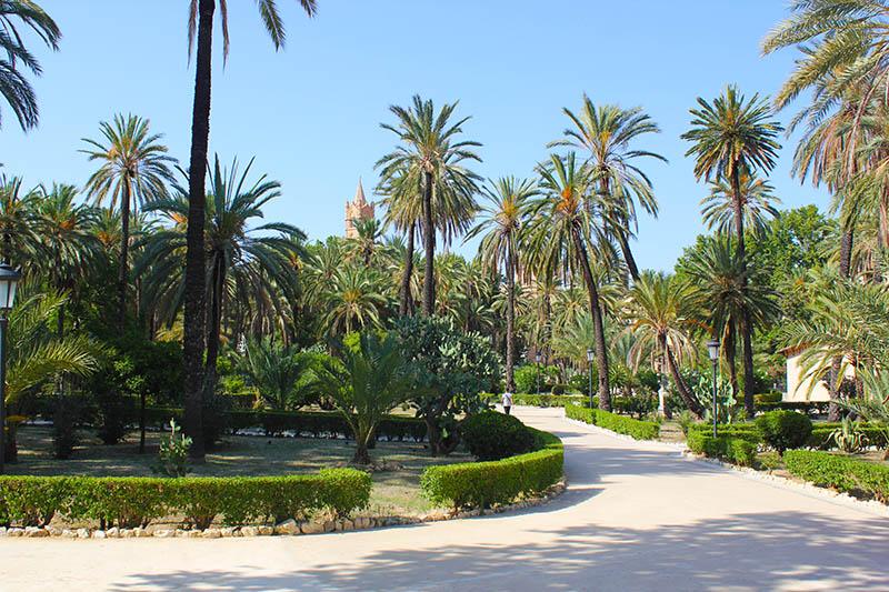 Английский сад в Палермо