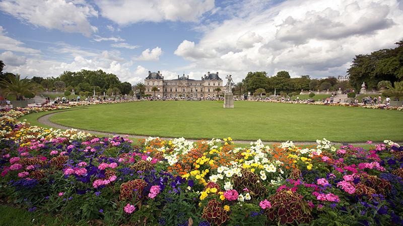 Люксембургский сад и дворец (Jardin du Luxembourg)