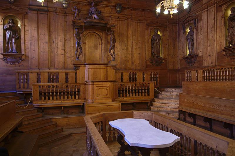 Анатомический театр в Болонье (Teatro Anatomico)