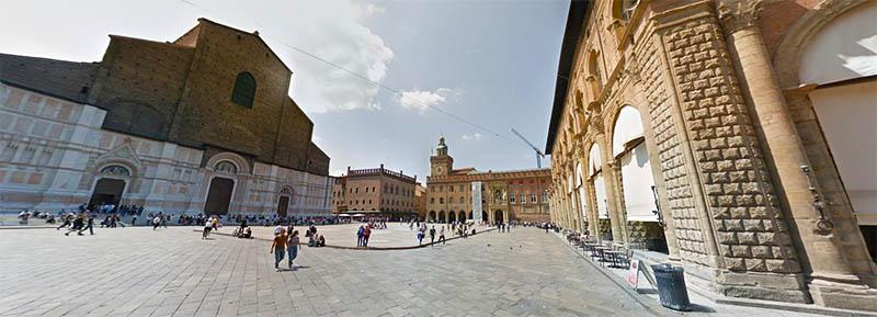 Piazza Maggiore и Piazza del Nettuno