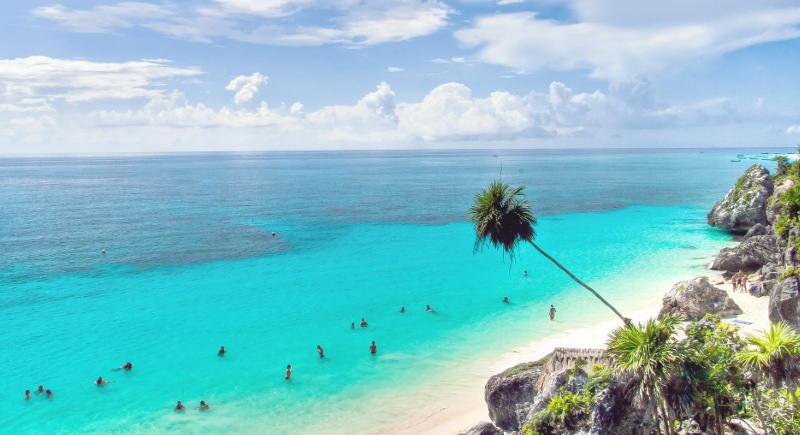 пляж мексика