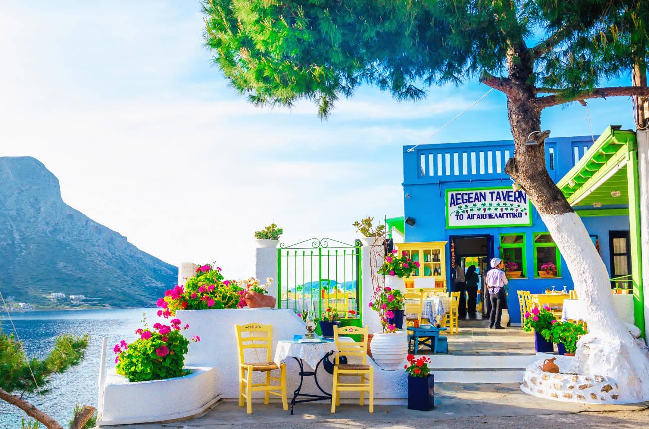 Ресторан в Греции