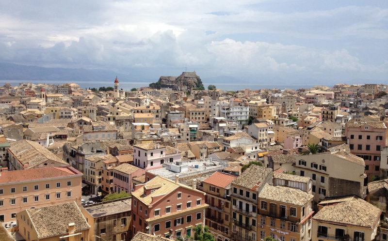 Корфу старый город