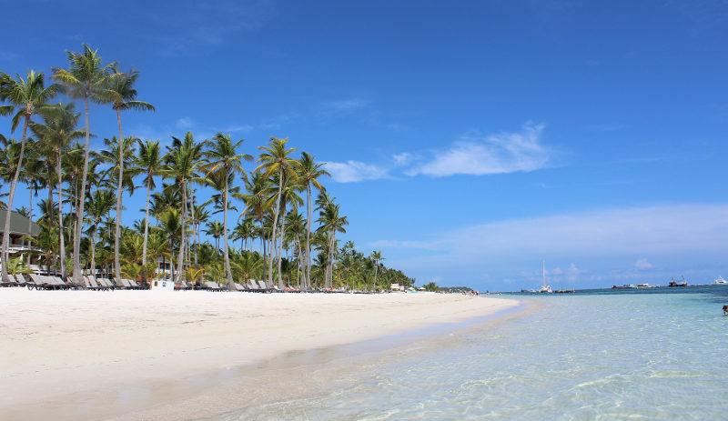 пляж пунта кана