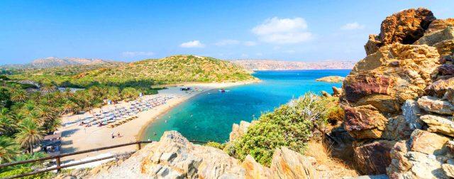 Пляж Вай, Крит, Греция