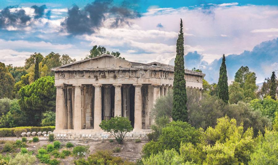 Храм Гефеста Афины