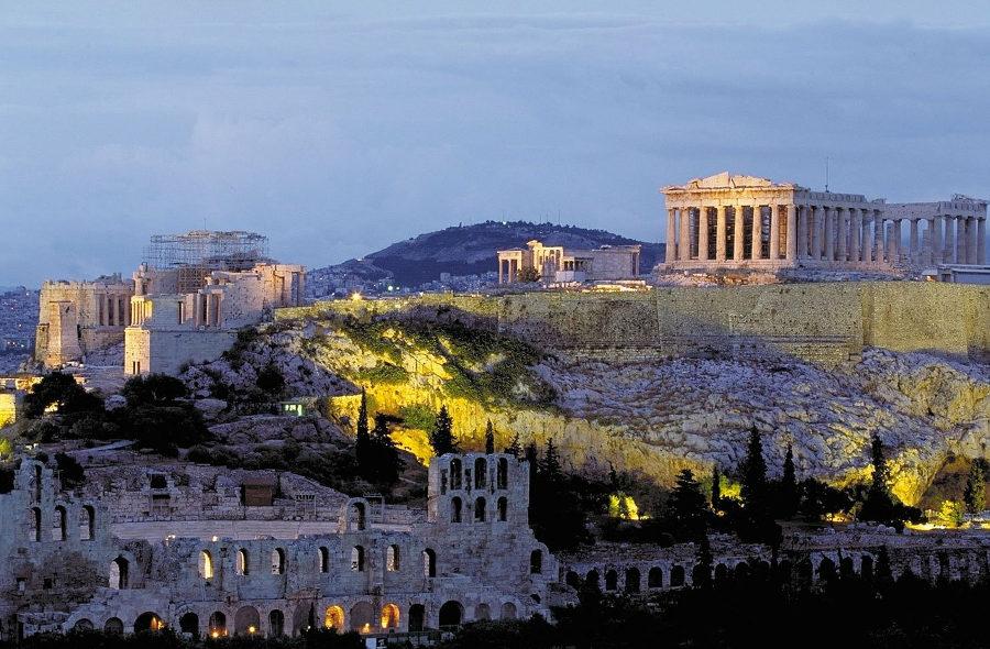 Афины Акрополь