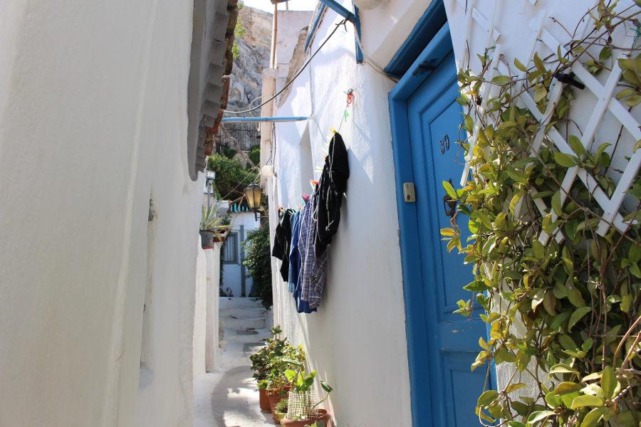 Район Плака Афины