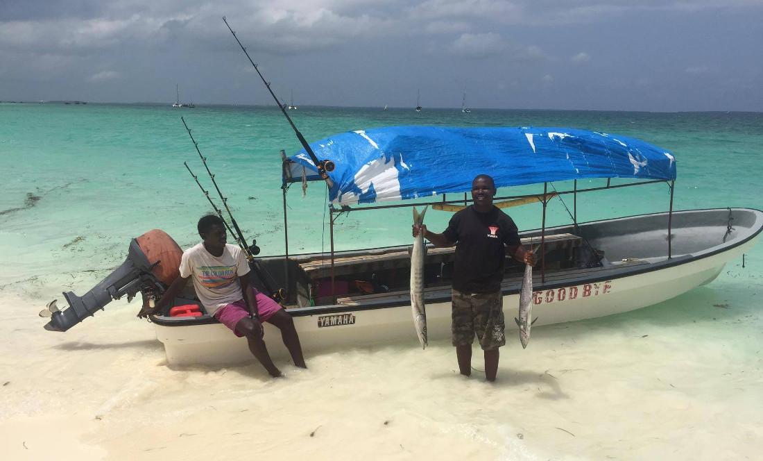 Рыбалка на Занзибаре