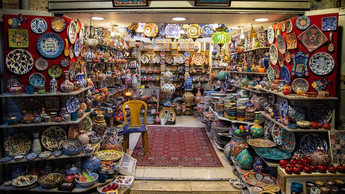 Рынок Souq Waqifh