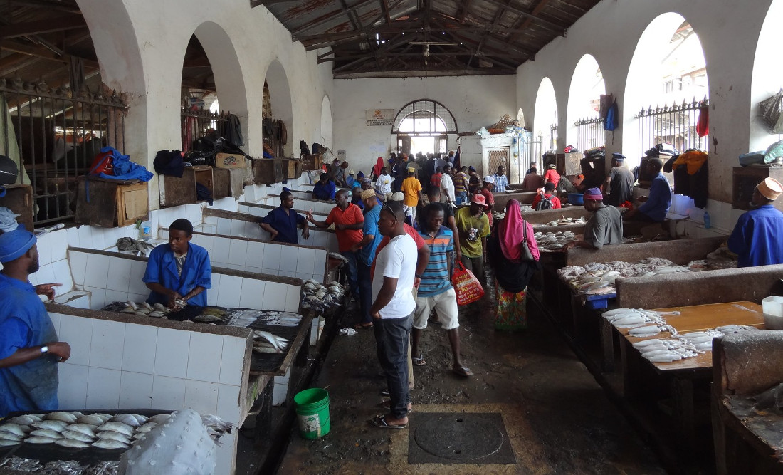 рынок города Стоунт Таун