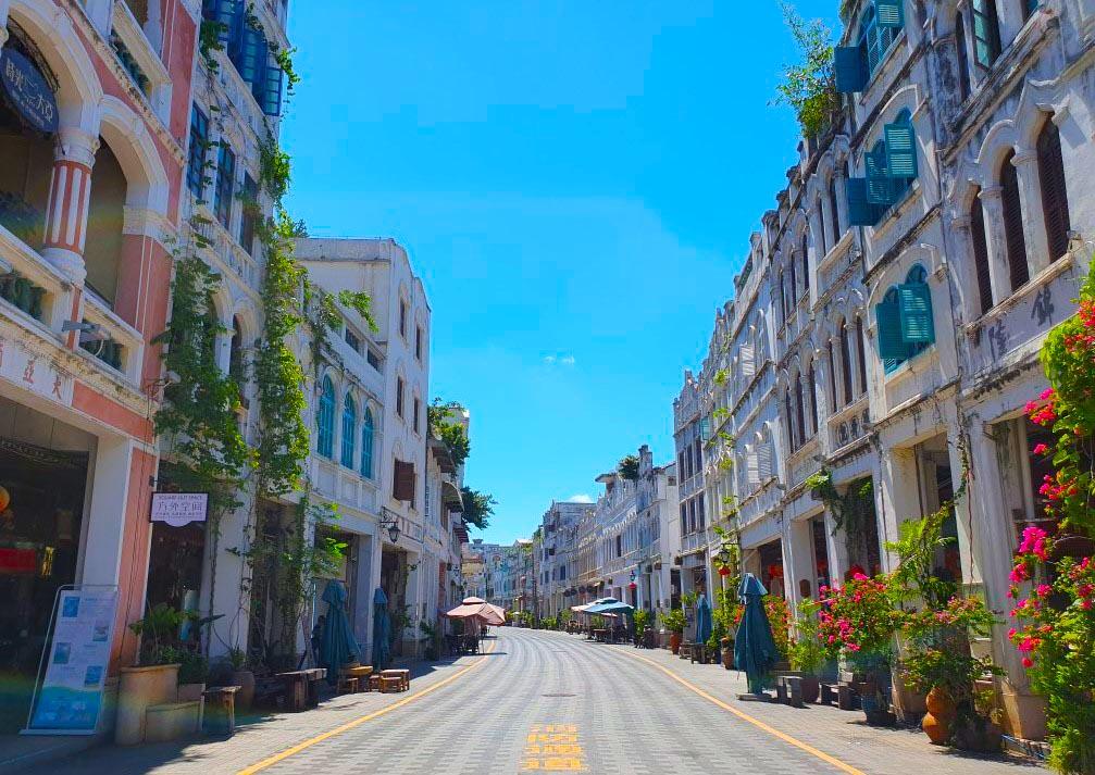 старая улица Хайкоу