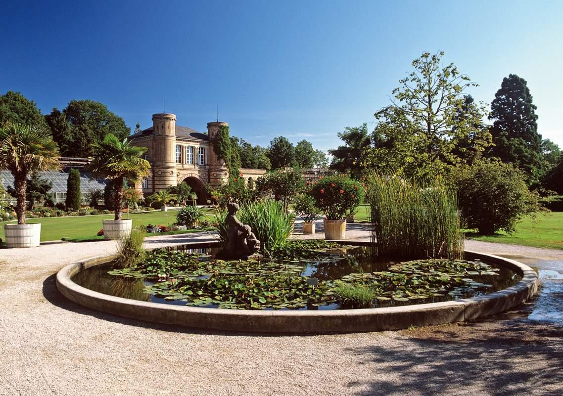 Ботанический сад Карлсрує